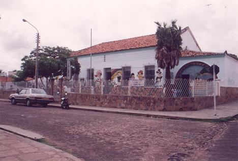 Antiga unidade na Rua São João